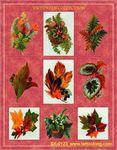 Victorian Ferns Stickers