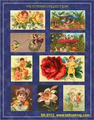Victorian Garden Children Stickers