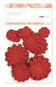Poppy Paper Flowers