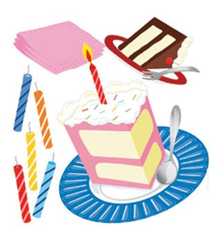 Piece Of Cake 3D  Stickers - Jolee's Boutique