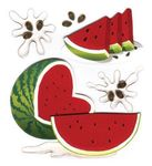 Watermelon 3D  Stickers - Jolee's Boutique