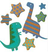 Dinos & Stars 3D  Stickers - Jolee's Boutique