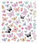 Pretty Butterflies Stickers