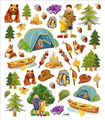Camping Trip Stickers