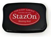 Blazing Red StazOn Solvent Ink Pad - 252618