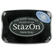 Stone Gray StazOn Ink Pad