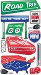 Road Trip Metallic Sticko Stickers
