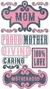 Mom Epoxy Sticko Stickers