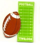 Football & Field 3D  3-D Stickers - Jolee's By You