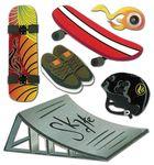 Skateboard 3D  Stickers - Jolee's Boutique
