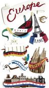 Europe 3D  Stickers - Jolee's Boutique