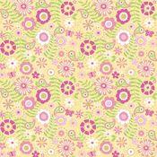 Strawberry Blossoms Paper - Doodlebug