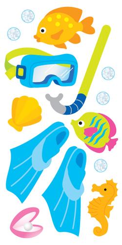 Snorkel Stickers