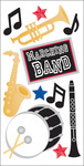 Marching Band Lg 3D Sticker