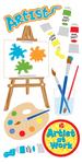 Artist Lg 3D Stickers - Sandylion