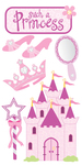 Princess Lg 3D Stickers - Sandylion