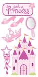 Princess Lg 3D Stickers - Sandylion