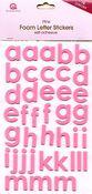 Pink Foam Letters