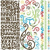 Calypso Combo Stickers by Bo Bunny