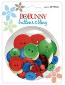 Calypso Buttons & Bling by Bo Bunny