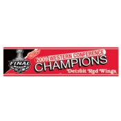 2009 NHL Western Conference Champions Bumper Sticker
