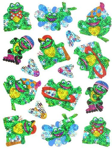 Sports Frogs Stickers by Trend