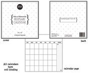12 Month Keepsake Calendar 12x12