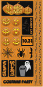 Trick Or Treat Phrase Sticker