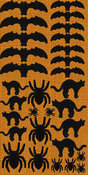 Trick Or Treat Icon Chipboard Stickers