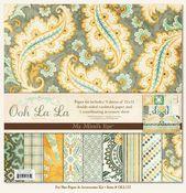Ooh La La For Him  Kit 12x12 Paper - My Mind's Eye