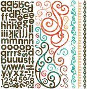 Gypsy Combo Stickers by Bo Bunny