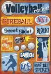 Volleyball Rocks Stickers by Karen Foster