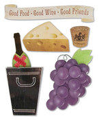 Winery Stacked Stickers by Karen Foster