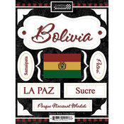 Discover Bolivia Stickers