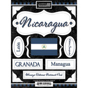 Discover Nicaragua Stickers