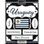 Discover Uruguay Stickers