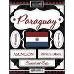 Discover Paraguay Stickers