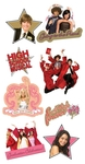 High School Musical Chipboard Stickers - Sandylion