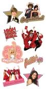 High School Musical Chipboard Stickers - Sandylion