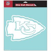 Kansas City Chiefs NFL White Decal