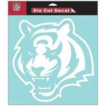 Cincinnati Bengals NFL White Decal