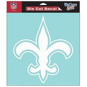 New Orleans Saints NFL White Decal