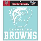 Cleveland Browns NFL White Decal