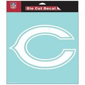 Chicago Bears NFL White Decal