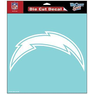 San Diego Chargers NFL White Decal