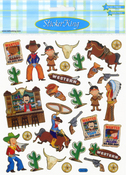 Wild West Stickers