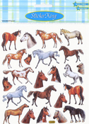 Spirited Horses Stickers