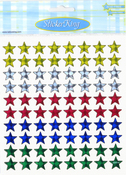 Prismatic Primary Stars Stickers