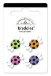 Tricky Treats Glitter Braddies by Doodlebug