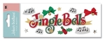 Jingle Bells Stickers - A Touch Of Jolee's